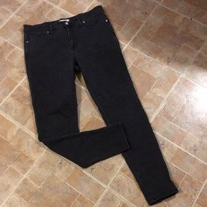 """Madewell 9"""" high-rise skinny jeans size women's 32"""